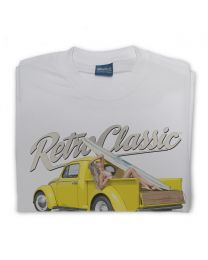 Bryn Jones Yellow Bug Surf Truck & Victoria Summers mens T-shirt