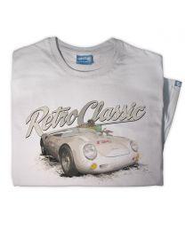 Porsche 550 Spyder Mens Racing Classic Sports Car T-Shirt