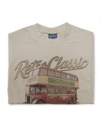 1947 Crossley DD42/3 Sunderland Corporation Transport bus Tee - Sand
