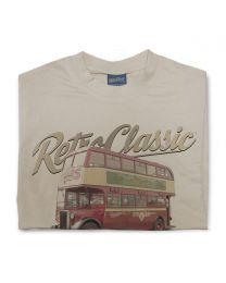 1947 Crossley DD42/3 Sunderland Corporation Transport bus Tee - Sand