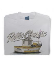 Fishing Boat (Crab Trawler) Tee - Grey