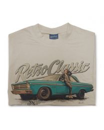 65 Plymouth Belvedere and Rina Bambina Mens T-Shirt