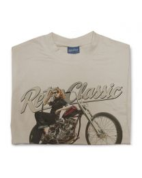 Harley Thunder Bike and Rina Bambina Tee - Sand