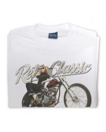 Harley Thunder Bike and Rina Bambina Mens T-Shirt
