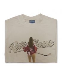 Ice Hockey Pin-up Josie Mens T-Shirt