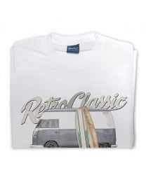 '62 Highroof campervan 'Urmas' Tee - White