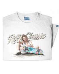 Skater Girl Model Jessica Johansen Mens T-Shirt