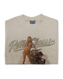 Yamaha FZ8 Motorbike & I Model Sophie Tee - White