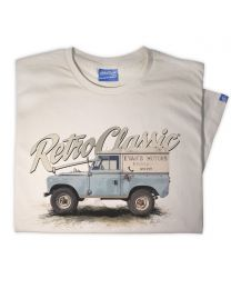 Uncle Andy's Landy 4x4 inspired Series 1 Tee - White