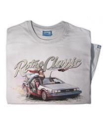 BTTF Car Replica 'DeLorean Time Machine' Tee - Grey