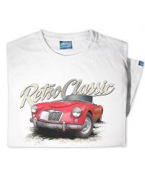 1960 MG MGA Mk1 1600 Roadster Tee - White