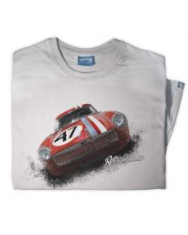 1964 MG lightweight Competition Roadster Tee - Grey