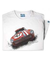 1964 MG lightweight Competition Roadster Mens T-Shirt