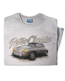 Porsche 356 Race Car Tee - Grey