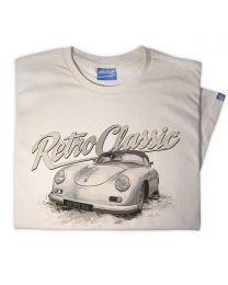 Porsche 356 Convertible Classic Car T-Shirt