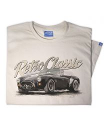 AC Cobra Mk IV Classic Sports Car Mens T-shirt
