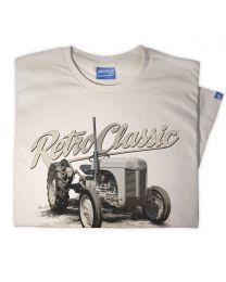 Grey Ferguson TE20 Tractor Mens T-Shirt