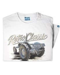 Rear Grey Ferguson TE20 Tractor Womens T-Shirt