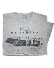 Mens 1935 Malcolm Campbell 'True Friend' Bluebird Railton V Car T-Shirt