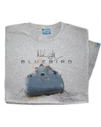 1935 Malcolm Campbell 'Speed' Bluebird Railton V Car Tee - Grey