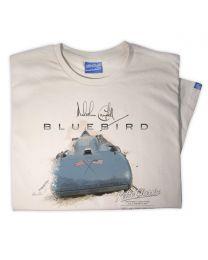 Mens 1935 Malcolm Campbell 'Speed' Bluebird Railton V Car T-Shirt
