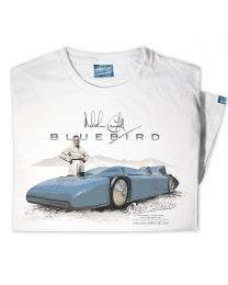 Mens 1935 Malcolm Campbell 'Land Speed' Bluebird Railton V Car T-Shirt