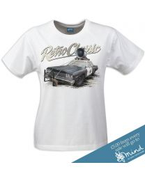 Ant's Replica 'Bluesmobile' Dodge Monaco Sedan Ladies T-Shirt