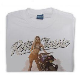 Yamaha FZ8 Motorbike & Internationally Published Model Sophie Mens T-Shirt