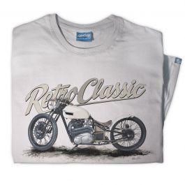 Custom Triumph Boardtracker Motorcycle Mens T-shirt