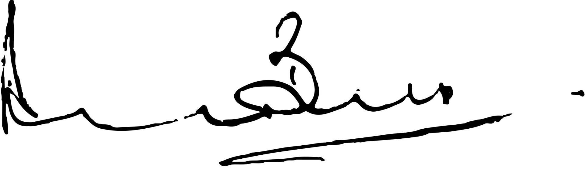 derek bell signature